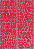 Real Magic Alpha Foil Red Foil Stickers - Reminisce