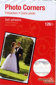 Photo Corners - White - Scrapbook Adhesives