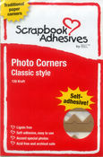 Photo Corners - Kraft - Scrapbook Adhesives