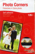 Photo Corners - Gold - Scrapbook Adhesives
