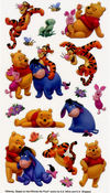 Winnie The Pooh and Friends Classic Sticko Stickers