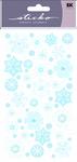 Winter Snowflakes Classic Sticko Stickers