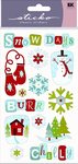 Snow Days Classic Sticko Stickers
