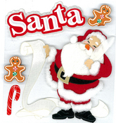 Classic Santa Jolee's Boutique Stickers