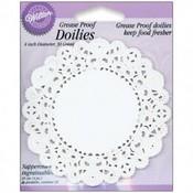 """Paper Lace 4"""" Doilies"""