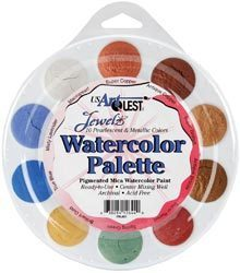 MicaColor Pastelle Watercolor Paint - US Art Quest