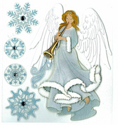 Winter Angel Jolee's Boutique Holiday Stickers