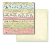 Green Fields Paper - Jack N Jill Collection By Prima - 10 Pack