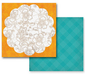 Dandiya Paper - Paisley Road Collection By Prima  - 10 Pack