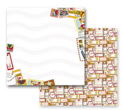 On The Road Again Paper - Road Trip Collection By Prima - 10 Pack