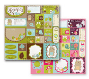 Growing Paper - So Cute! Collection By Prima - 10 Pack