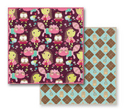 Argyle Paper - So Cute! Collection By Prima  - 10 Pack
