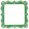 Artisan Square Green Glitter Bling Frame - Making Memories