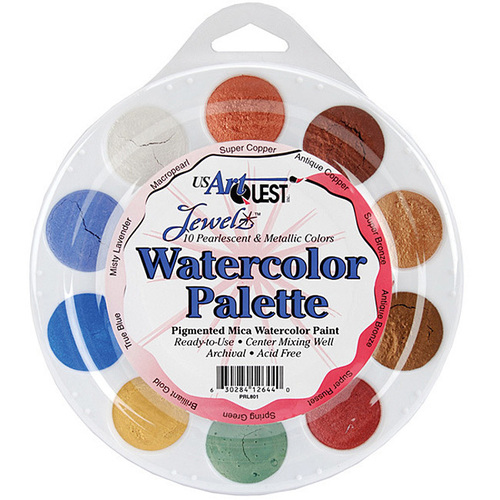 Metallic MicaColor Watercolor Paint - US ArtQuest
