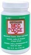 Outdoor Mod Podge - Plaid