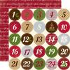 Christmas Countdown Paper - Echo Park