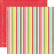 Bright Stripes Paper - Echo Park