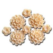 Resin Blossoms Cream - Maya Road