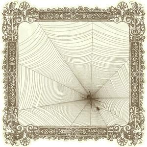 Spider Lair Die Cut Paper - Hocus Pocus By Pink Paislee