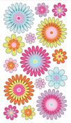 Playful Blooms Stickers - EK Success