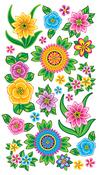 Floral Stickers - EK Success