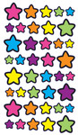 Technicolor Stars Stickers - EK Success