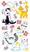 Playful Kittens Stickers - EK Success