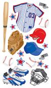 Baseball Gear Stickers - EK Success