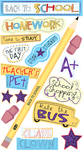 Back To School Stickers - EK Success