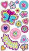 Butterfly Shimmer Stickers - EK Success