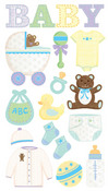 Baby Objects Stickers - EK Success