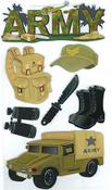 Army Stickers - EK Success