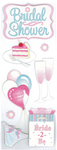 Bridal Shower Stickers - Jolee's By EK Success