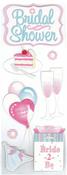 Bridal Shower Stickers - Jolee's By EK Success