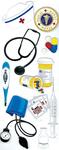Nurse Stickers - Jolee's By EK Success