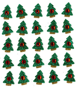 Christmas Tree Repeats Stickers - Jolee's Boutique By EK Success