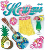 Hawaii Stickers - Jolee's Boutique By EK Success