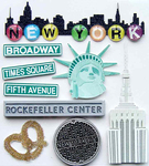 New York Stickers - Jolee's Boutique By EK Success