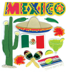 Mexico Stickers - Jolee's Boutique By EK Success