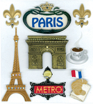 Paris Stickers - Jolee's Boutique