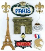 Paris Stickers - Jolee's Boutique