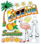 Florida Stickers - Jolee's Boutique