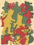 Glad Tidings Die-cut Cardstock Pieces - Susan Winget