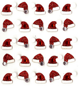 Santa Hat Repeats Stickers By Jolee's Boutique