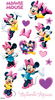 Minnie Mouse Disney Stickers