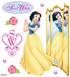Disney Snow White Reflection Stickers
