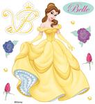 Belle Disney Stickers - EK Success