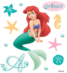Ariel Disney Stickers - EK Success