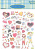 Girly Girl Stickers