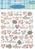 Love And Roses Stickers